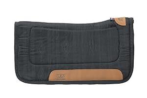 Weaver Leather Tacky-Tack All Purpose Contoured Saddle Pad, Black