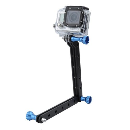 Bluefinger Cnc Aluminum Arms And Screw For Gopro Hd Camera(Hero3+/3/2)(With Screw Color Blue)