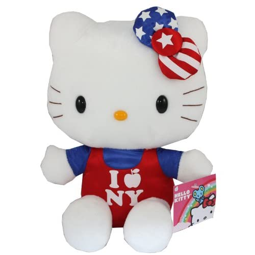 Sanrio Hello Kitty Plush 10 I Love New York Usa Exclusive Edition