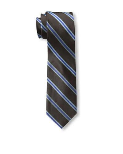 Ben Sherman Men's Locke Stripe Tie, Brown