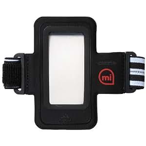 adidas Uni Tasche Media Armpocket, black/core energy s12/reflective silver, 14,5 x 9,5 cm, X14620