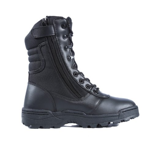 Ridge Footwear Men's Dura-Max Zipper Work Boot,Black,11.5 M US (Boots Footwear)