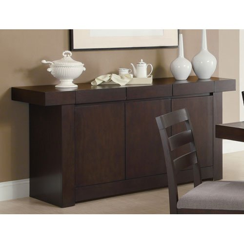 Coaster Home Furnishings Coaster 103105 Casual Server, Cappuccino