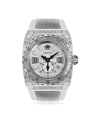 Savoy Men's Icon Extreme White Silicone Watch