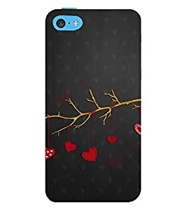 Vizagbeats love tree branch Back Case Cover for Apple iPhone 4::Apple iPhone 4S