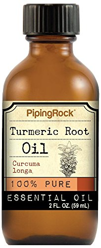 Turmeric Root Essential Oil 2 fl oz (59 ml) 100% Pure -Therapeutic Grade