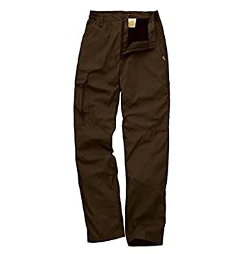 Craghoppers Basecamp Winter-Lined Trousers - CIGAR - 30 - Short