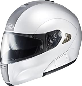 HJC Helmets IS-MAX BT Helmet (White, X-Large) from HJC Helmets
