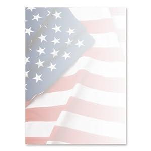 Geographics flag letterhead bond paper for Blue bond paper