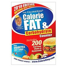 Calorie King Fat & Carbohydrate Counter-2010 Diet Guide (Box of 10)