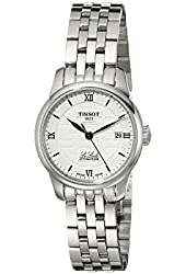 Tissot Women's T41118335 Le Locle Analog Display Swiss Automatic Silver Watch