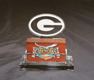 NFL Green Bay Packers Business Card Holder in Gift Box by Caseworks