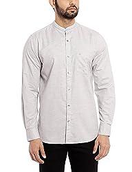 Raymond Men's Casual Shirt (8907254577925_RCSX00719-B3_42_Medium Blue)