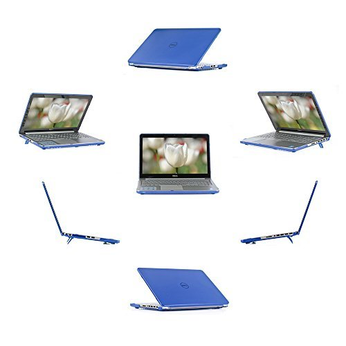 "iPearl mCover Hard Shell Case for 15.6"" Dell Inspiron 15 5545 / 5547 / 5548 series laptop - BLUE by mCoverAR"