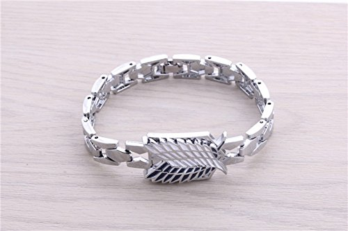 Letshopping® Attack on Titan Alloy Bracelet - 1