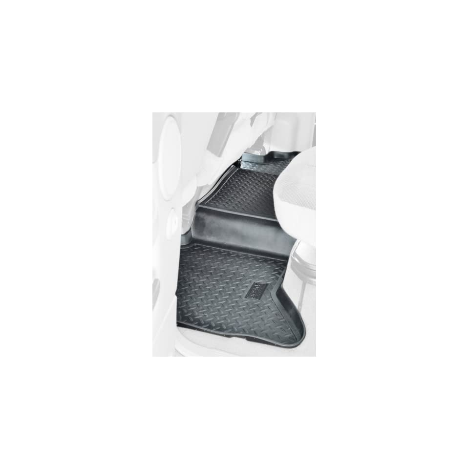 com Husky Liners 20451 Black Rubber Custom Fit Cargo Area Floor Liner