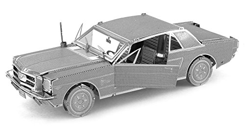 Fascinations Metal Earth 3D Laser Cut Model - 1965 Ford Mustang - 1