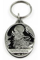MONTANA WOLF KEYRING - Key Ring