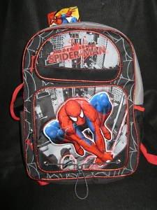 SPIDERMAN, grosser Rucksack - Schultasche - Tasche