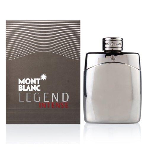 Mont Blanc EDT Spray for Men, Legend Intense, 3.3 Ounce