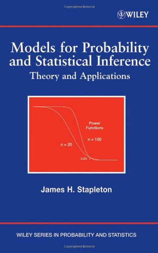 Models for Probability and Statistical Inference: Theory and Applications