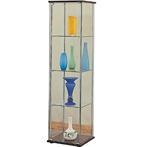 Buy Quot Modern Contemporary Glass Curio Cabinet Quot View 35