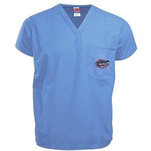 Illinois Fighting Illini - Sky Blue - Scrub Top by Gelscrubs