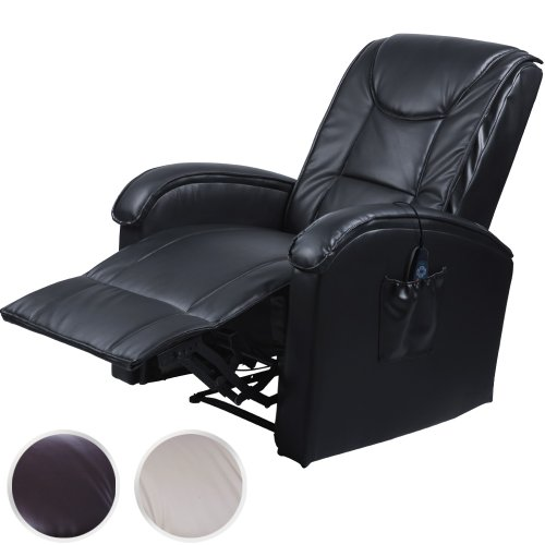 acehter fauteuil relax de massage lectrique noir en. Black Bedroom Furniture Sets. Home Design Ideas