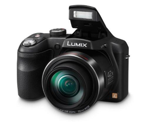 Аксессуары для электроники Panasonic DMC-LZ40 Digital Camera with 3-Inch LCD Screen (Black)