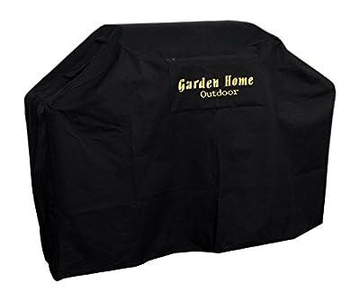 Garden Home outdoor Heavy Duty Grill Cover, Black, 64'' L