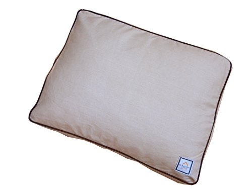 Bowhausnyc Matching Stone Beige Crate Bed For Pets Tan/Brown front-438582
