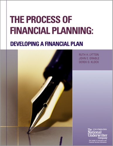 The Process of Financial Planning: Developing a Financial...