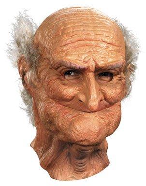 Hombre Oldie Máscara Old Man adultos de disfraces de Halloween accesorio
