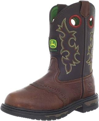 John Deere 3164 Western Boot (Little Kid Big Kid) by John Deere Kids