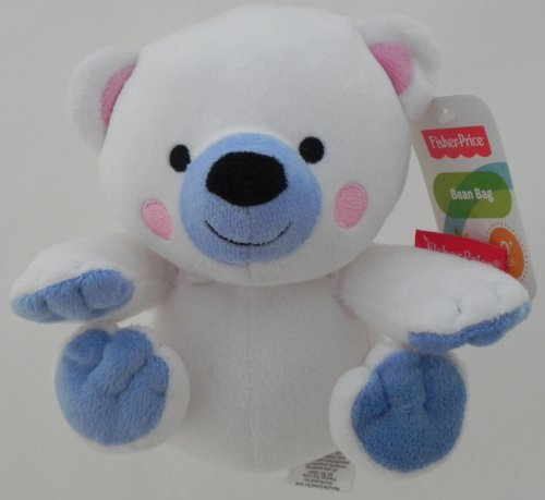 Fisher Price Bean Bag Polar Bear - 1