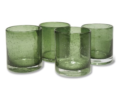 Artland Iris Double Old Fashioned Glasses, Sage, Set of 4 (Old Sage compare prices)
