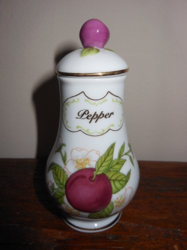 NEW Lenox 'Orchard Collection' Porcelain Spice Jar - Pepper