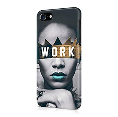 Rihanna Work iPhone 7 Hard Plastic Phone Case Cover