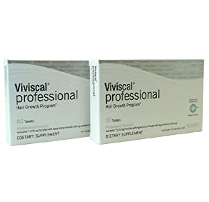 Viviscal Professional Hair Growth Program Dietary Supplement,120 count