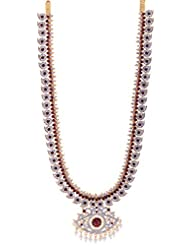 Preethi Gold Plated Gold Metal Chain Necklace For Women (Preethi_26)