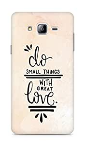 AMEZ do great things with love Back Cover For Samsung Galaxy ON7