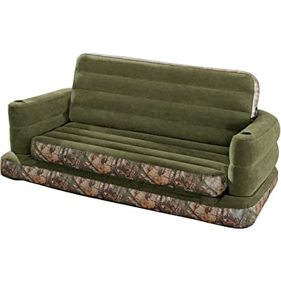 INTEX® Realtree Queen Size Pull Out Inflatable Sofa 68566AY
