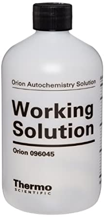 Orion 96045 Titrant 450mL Clear Bottle (Pack of 12)