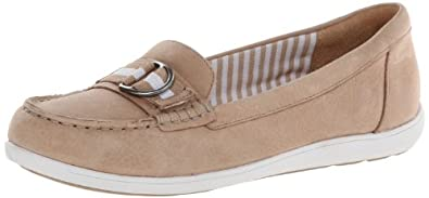 Naturalizer Women's Japara Boat Shoe,Tan,5.5 M US