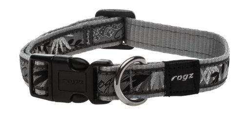 rogz-scooter-collar-silver-gecko-16-mm-x-26-40-cm