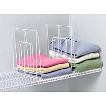Large,Ventilated Spectrum Diversified Shelf Divider