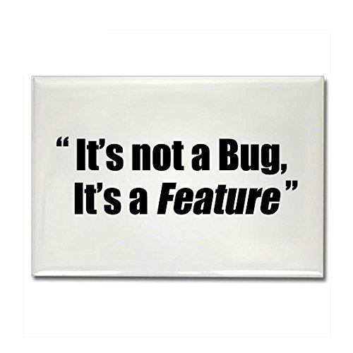 CafePress - It's a Feature Rectangle Magnet - Rectangle Magnet, 2