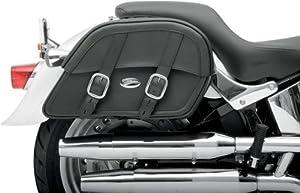 Saddlemen Drifter Slant Saddlebag - Custom Fit - 15 1/2in.L x 9 1/2in.H x 5in.D 3501-0439