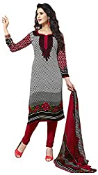 VSS Collections Women's Synthetic Unstitched Dress Material(1071,Multi-Color)