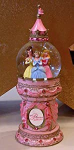 Disney Princess Tower Snowglobe Water Globe  from Disney